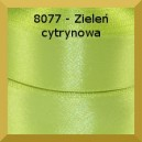 Tasiemka satynowa 6mm kolor 8077 zieleń cytrynowa