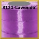 Tasiemka satynowa 6mm kolor 8121 lawenda