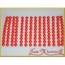 Perełki samoprzylepne 6mm ceglane perłowe 140szt