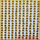 Diamenciki samoprzylepne 3mm mleczne opalizujące