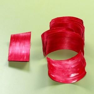 Elementy do złożenia rożka czerwone 100szt