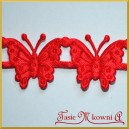 Motyle duże czerwone