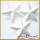 Gwiazdka styropianowa wypukła duża 11.5cm