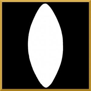 SZYSZKA styropianowa gładka 9,5 cm