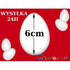 Jajko styropianowe 6cm IMPORT