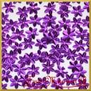 Cekiny kwiatuszki mini fioletowe metaliczne 5g/160szt.