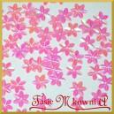 Cekiny kwiatuszki mini różowe opalizujące 5g/160szt.