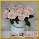 Serwetka do decoupage róże w wiaderku