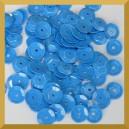 Cekiny 8mm - 12g niebieskie matowe