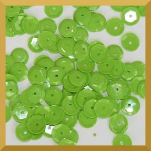 Cekiny 8mm - 12g pistacja matowe