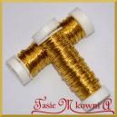 Drucik florystyczny PET złoty 25 g.