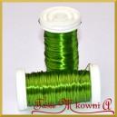 Drucik florystyczny prosty jasno zielony 75 g.
