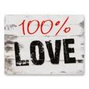 "Naklejki na buty ""100% LOVE"""