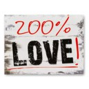 "Naklejki na buty ""200% LOVE!"""