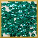 Cekiny 6mm 5g.  zielone butelkowe