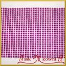 Taśma diamentowa ozdobna 12cm/0,5mb jasno fioletowa