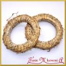 Wianek słomiany mały 18cm