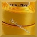 Tasiemka satynowa 25mm kolor 8016 złoty