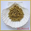 Perełki 6mm złote