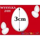 Jajko styropianowe 3cm IMPORT