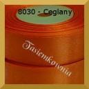 Tasiemka satynowa 25mm kolor 8030 ceglany