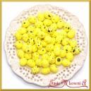 Jajka nakrapiane żółte 2cm /  100 szt