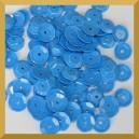 Cekiny kółka łamane 6mm 17g niebieskie - b27