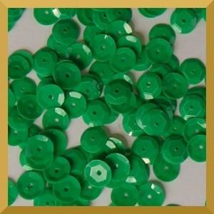Cekiny kółka łamane 6mm 17g zielony pastelowy - b30