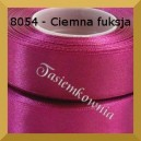 Tasiemka satynowa 25mm kolor 8054 ciemna fuksja