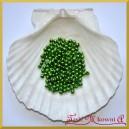 Perełki 4 mm zielone