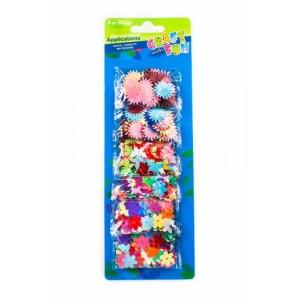 Mix cekinów - słońce, motylki, kwiatuszki 6 opakowań
