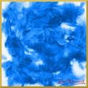 Piórka puszyste niebieskie