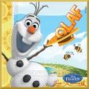 Serwetka do decoupage Olaf i pszczoły
