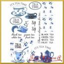 Papier ryżowy A4 R413 herbata