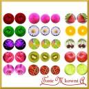 Papier do decoupage KLASYCZNY A4 D0274M owoce i kwiaty