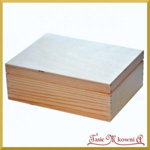Pudełko drewniane - herbaciarka na 6 przegród