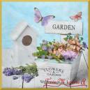 Serwetka do decoupage Garden 1szt