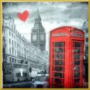 Serwetka do decoupage Londyn 1szt