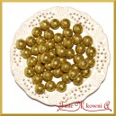 Brokatowe kulki złote 1,8cm