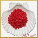 Perełki 3 mm bordowe perłowe