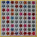 Kwiatuszki samoprzylepne mix kolorów 8mm/135szt.