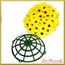 Koło - stelaż do kwiatów sztucznych 25cm