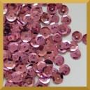 Cekiny kółka łamane 6mm - 12g brudny róż