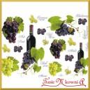 Papier do decoupage KLASYCZNY A4 D0232M - wino winogrona