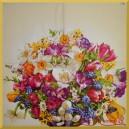 Serwetka do decoupage bukiet kwiatów wiosennych