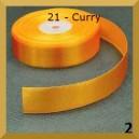 Tasiemka satynowa 38mm kolor 21 curry 2mb