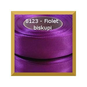 Tasiemka satynowa 25mm kolor 8123 fiolet biskupi