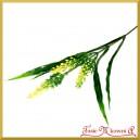 Gałązka dekoracyjna - trawa ozdobna żółta 36cm  (A499)