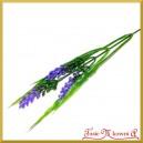 Gałązka dekoracyjna - trawa ozdobna fioletowa 36cm  (A499)