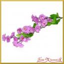 NIEZAPOMINAJKI fioletowe  - gałązka ozdobna 35cm/1szt.